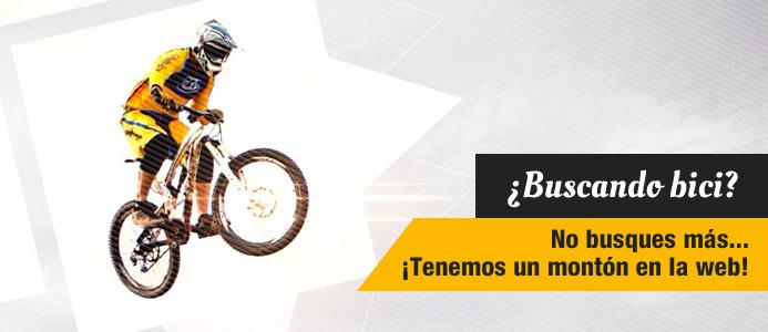 ¿Buscando bici? No busques más, tenemos un montón en la web