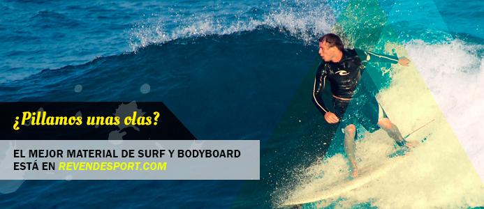 ¿Pillamos unas olas? Descubre las mejores tablas de surf y bodyboard