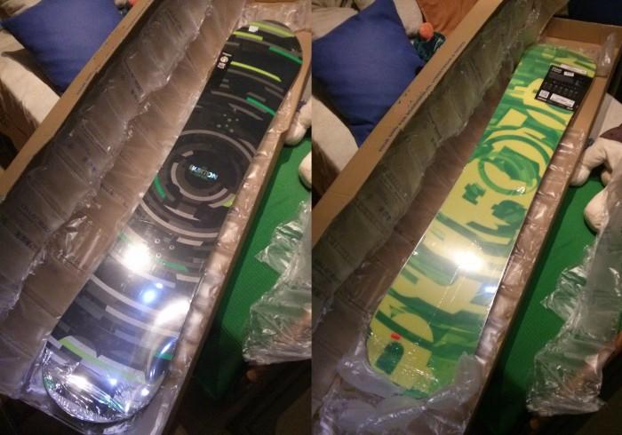 Burton CLash 2013 145 Cm Nueva en los plásticos en