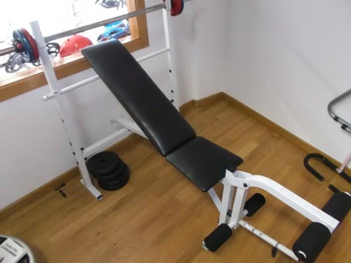 Banco de Pesas Musculación en