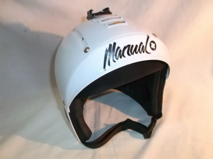 Casco Manual + Soporte GoPro en