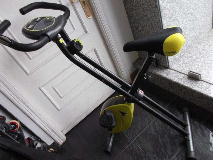 Bicicleta Estática Plegable Diadora en