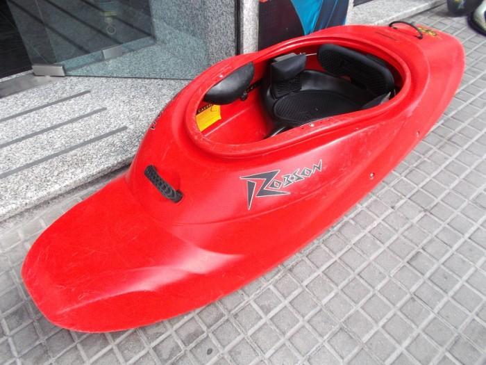 Kayak Surf Robson Quarks completo en