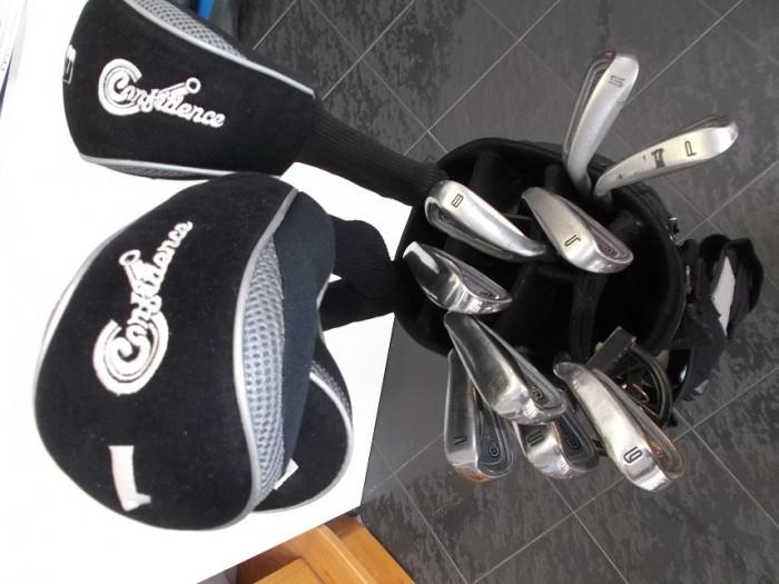 Juego Palos Golf Confidence Completo en