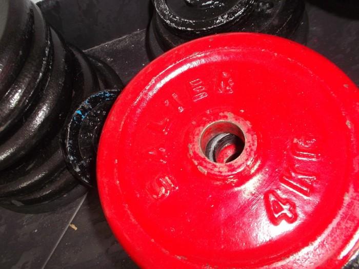 Pesas Musculación