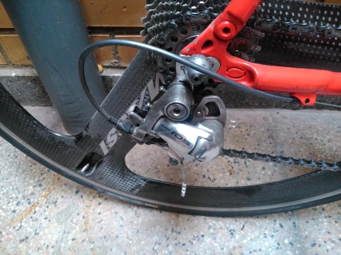 Bicicleta contrarreloj o triatlon en