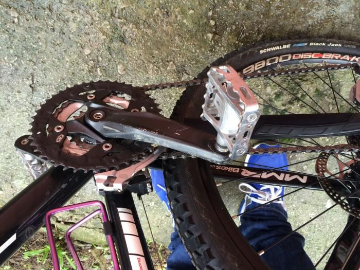 Bicicleta de montaña en