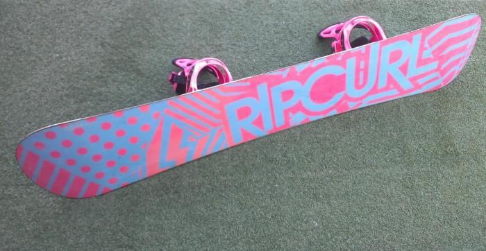 Vendo tabla snowboard Rip Curl en
