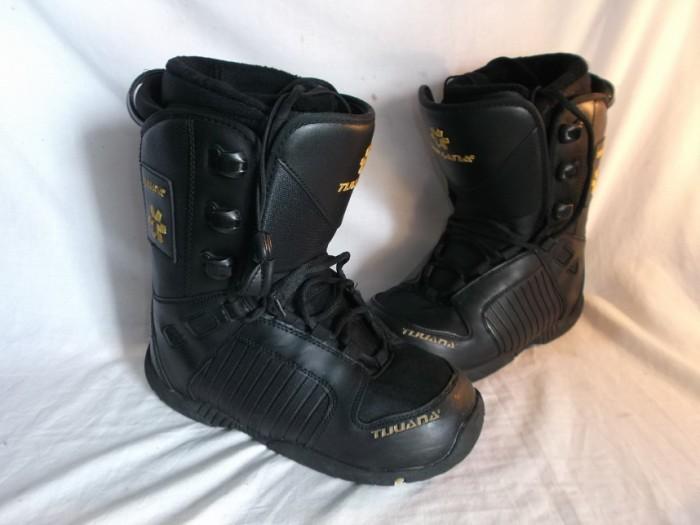 Botas Snowboard Tijuana Negro/Oro en