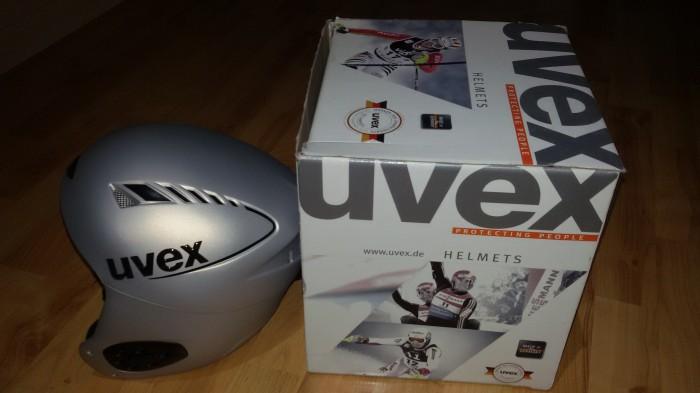 casco nuevo uvex en