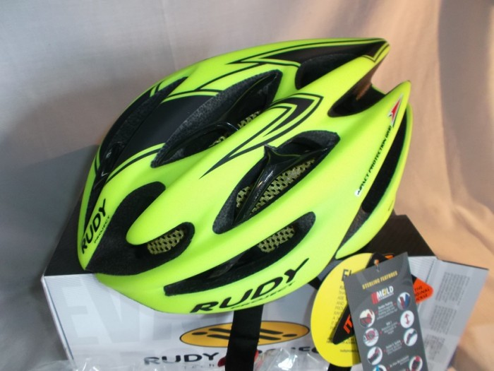 Casco Rudy Project Sterling Fluor NUEVO en