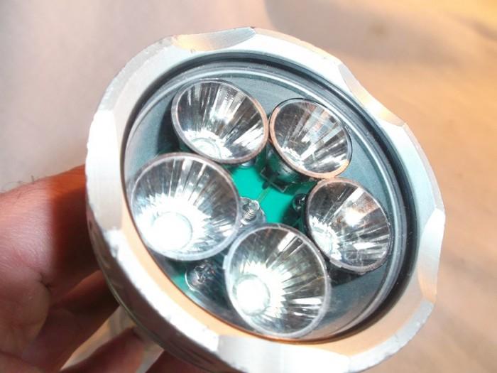 Foco Buceo Dragonsub LUX 5 LED