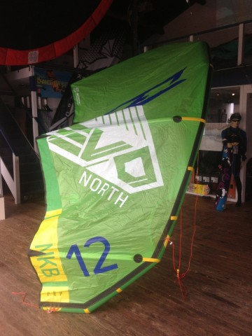2014 North Evo Kite Complete w/Bar & Lines en