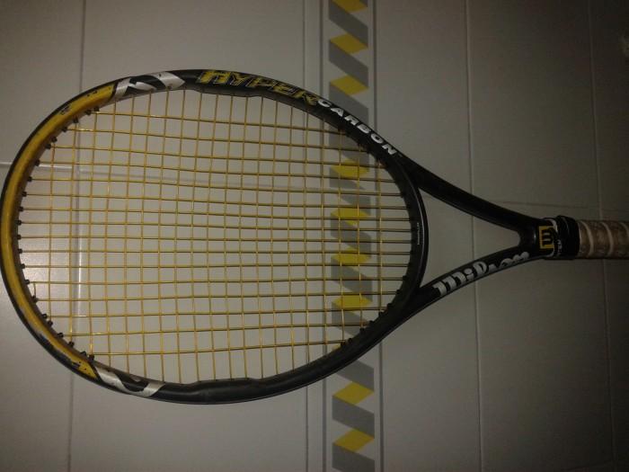 vendo raqueta de tenis Wilson  Hypper Hammer  carbon en