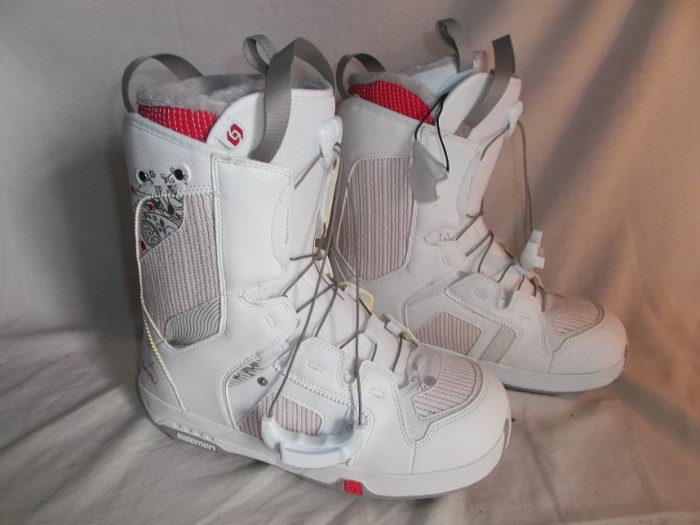 Botas Snow Salomon Pearl White en