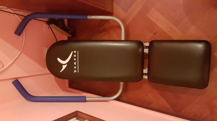Banco abdominales con respaldo ergonómico varias posiciones, poco uso en