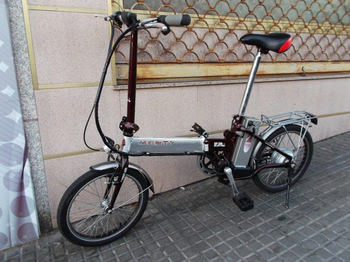 Bicicleta Electrica Plegable Monty EF-38 en