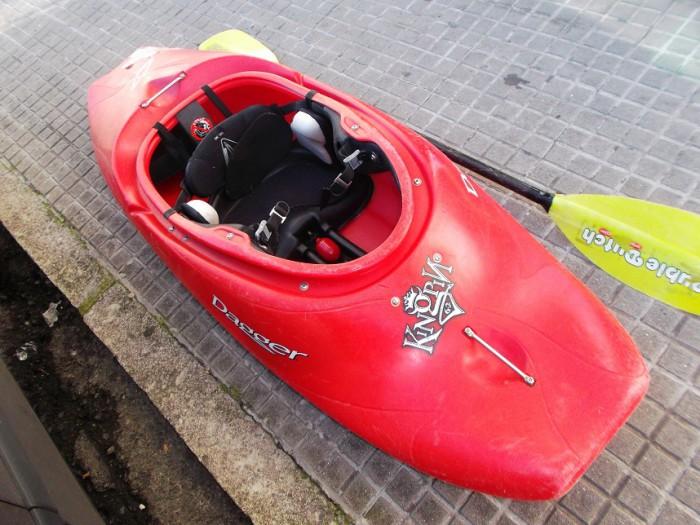 Kayak Dagger KingPin 6.2 + accesorios en