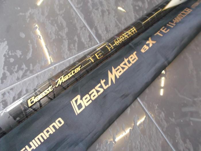 Caña Shimano BeastMaster BX TE 11-600XXH en