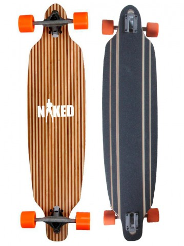 Longboard Naked Wood en