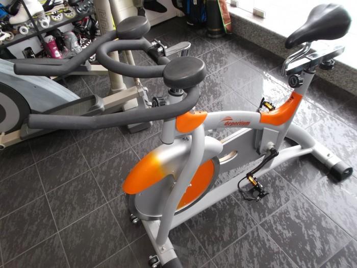 Bicicleta Spinning Deportium