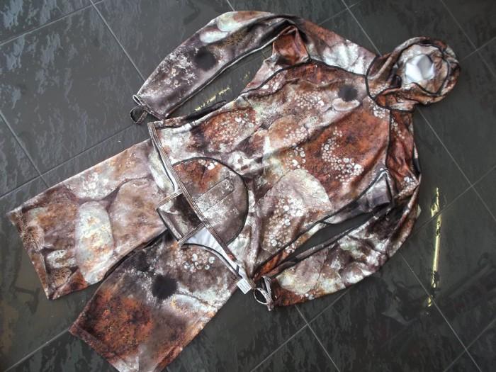 Lycra OMER Camuflage Chaq. + Pant. en