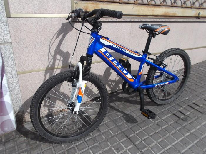 Bicicleta Junior B-Pro M20 Alum. en