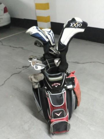 Juego de palos de golf en