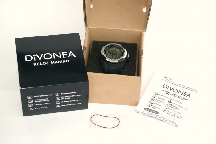 Reloj DiVONEA para Buceo / Apnea / Pesca submarina (Nuevo) en