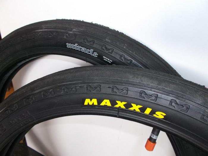 Par Cubiertas Maxxis Miracle BMX en