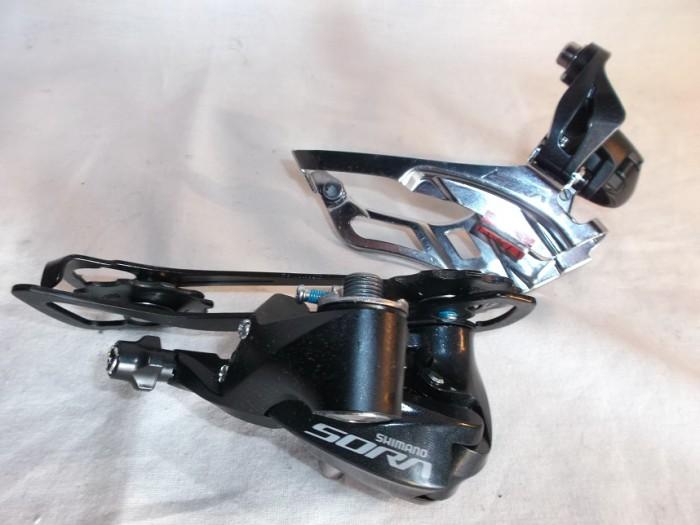 Cambio y Desviador Shimano SORA 3x9V en