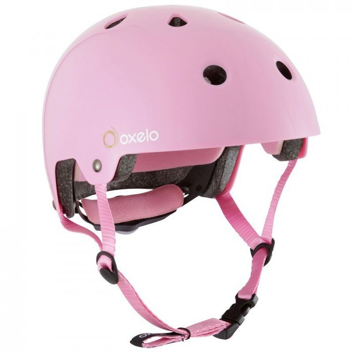 Casco Skate Play Oxelo Rosa