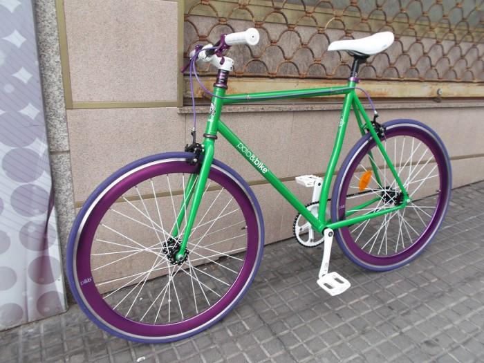 Bicicleta Fixie Polo & Bike Frutt en
