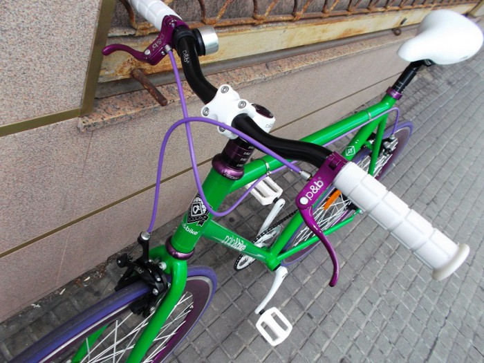 Bicicleta Fixie Polo & Bike Frutt