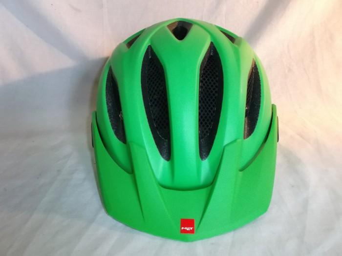 Casco MET Crossover Verde