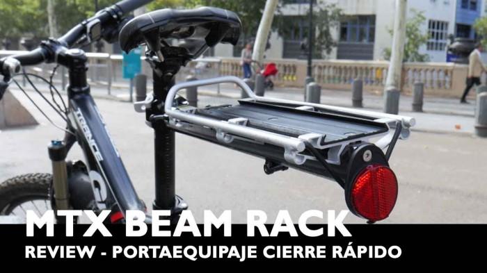 Portabultos Tija Topeak MTX Beamrack