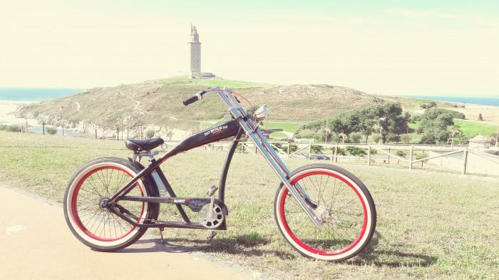 Bicicleta Felt Bandit Chopper custom en