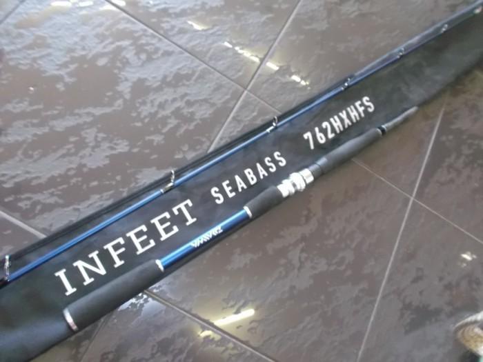 Caña Daiwa Infeet Seabass 762 HXHFS en