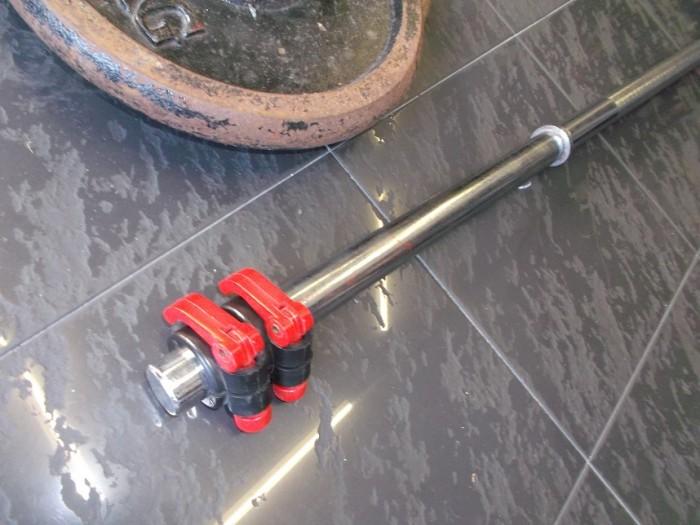 Barra Olimpica 2m + 20 kilos