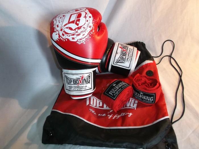 Guantes Boxeo Top Boxing 10 Oz en