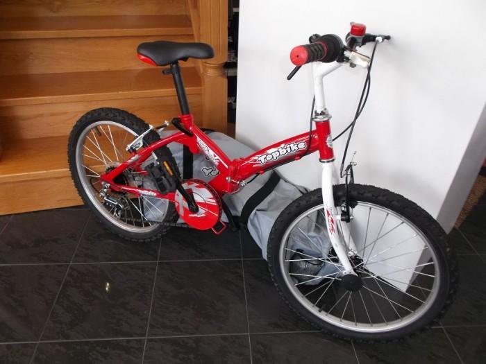 Bicicleta niño 20 pulgadas Plegable en