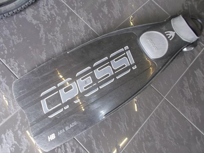 Aleta Buceo Cressi Master ARA EBS XL (suelta)