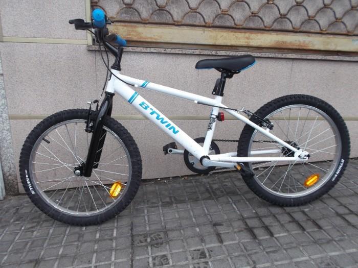 Bicicleta Junior BTwin Racing 20 pulgadas