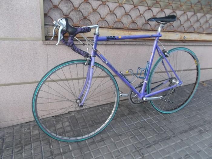 Bicicleta Carr. MBK Mirage Pro años 80 en