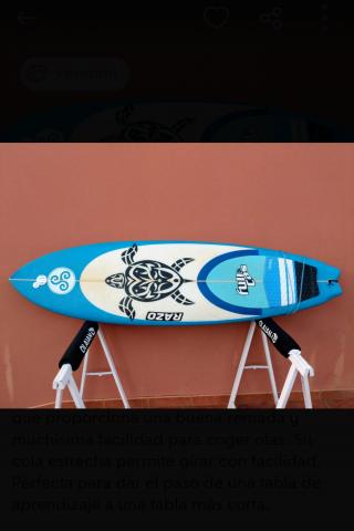 Vendo tabla de surf fish evolutiva 6,4 en