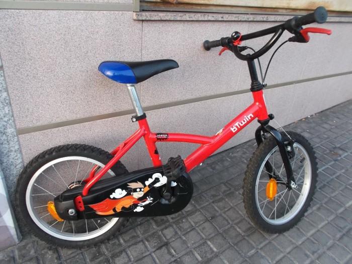Bicicleta Infantil B'Twin Hero 16 en