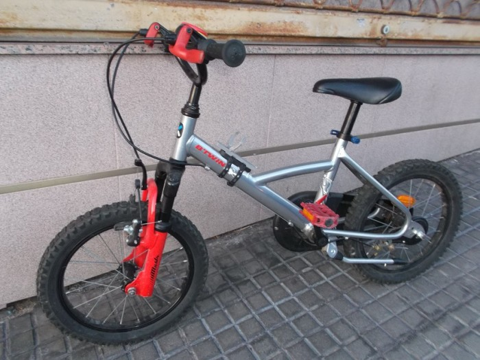 Bicicleta Infantil Monster Truck 16 en