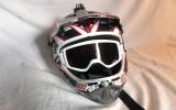 Casco DH SixSixOne Strike + Gafas