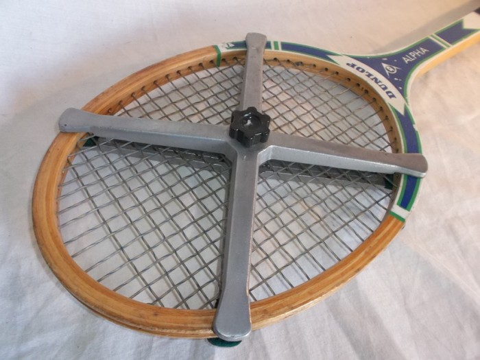 Raqueta Tenis Dunlop Madera Antigua en