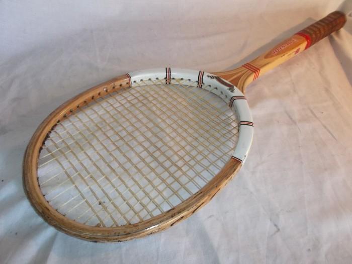 Raqueta Antigua Madera Dunlop Maxply en